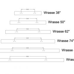 wrasse hanging point distances