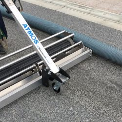 Atmos magnetic sweeper in action