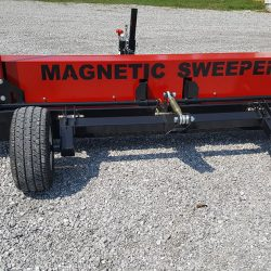 Caiman magnetic sweeper rear view
