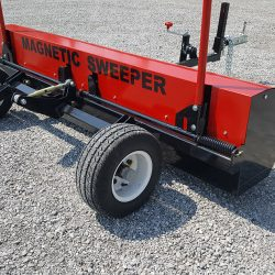 caiman tow behind magnetic sweeper