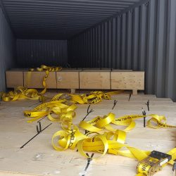 Full container Load of ISO 86 outbound to customer