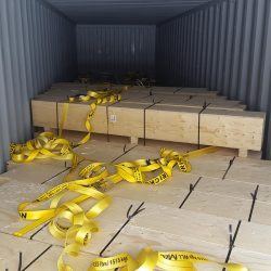 ISO hanging magnetic sweeper international packaging Full container load outbound
