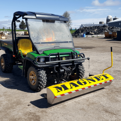 Yak front mount magnetic sweeper