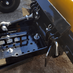 Yak magnetic sweeper quick connect system