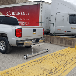 PYR hitch mounted magnetic sweeper