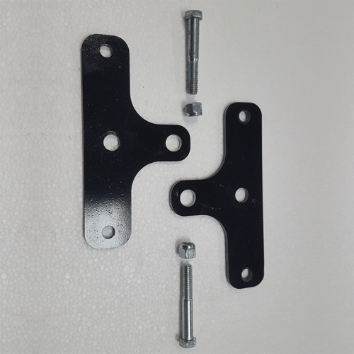 Part #3 PYR 4.5x4.5 Painted Steel Wheel Brackets with bolts (2 pcs)