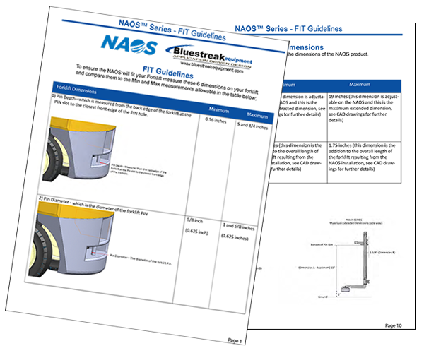 NAOS Series FIT Guidelines
