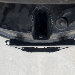 NAOS ultra slim profile design adds 1.75 inch to forklift profile
