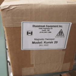 Step 13 Kursk magnetic sweeper box labelling