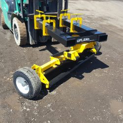 UPLAND Brochure Magnetic Sweeper Forklift Attached