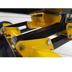 UPLAND Forklift Magnetic Sweeper Linkage Features